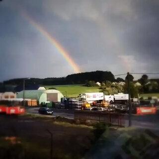 卢森堡的双彩虹