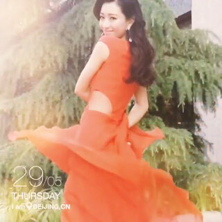 散热小红裙