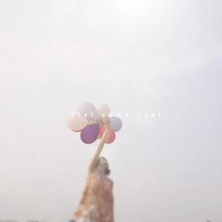 唯美多彩气球