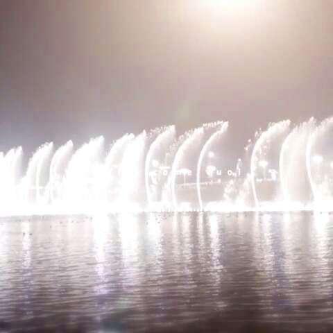美丽青岛,美丽喷泉
