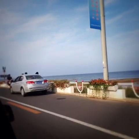 秦皇岛滨海大道!