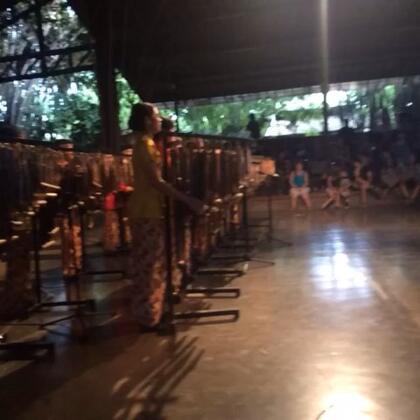 印尼民间乐器,现场感觉超好诶😘