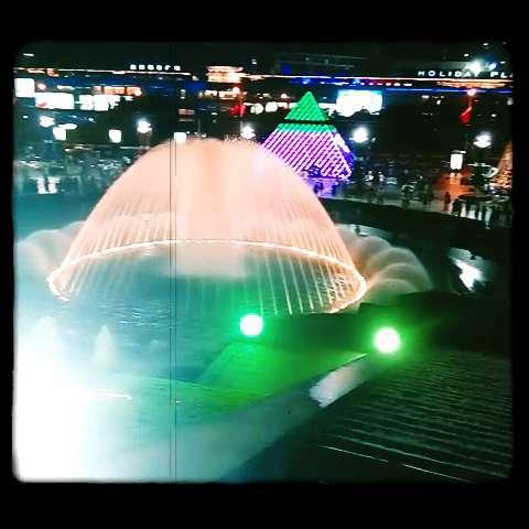 科技小制作彩红喷泉