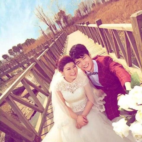 hunzhao结婚照-jiehunzhao