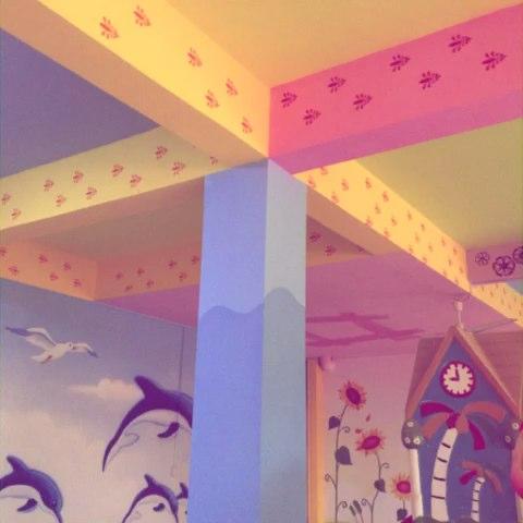 幼儿园抽象画