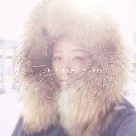 """下雪了❄️ - 大头酸菜葫芦娃的美拍"""""""