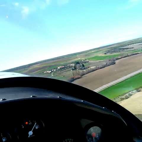 开飞机活动亲身体验,飞机起飞过程!
