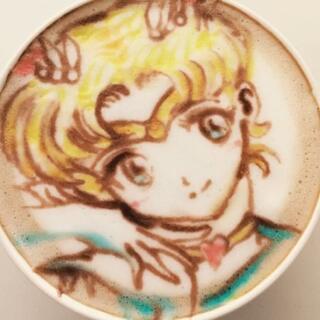 曼妙的咖啡拉花<span class=