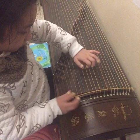 古筝曲谱小城故事