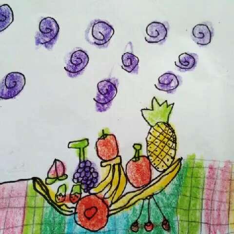 幼儿简笔画#好吃的水果
