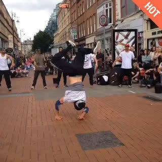 都柏林街头街舞秀1