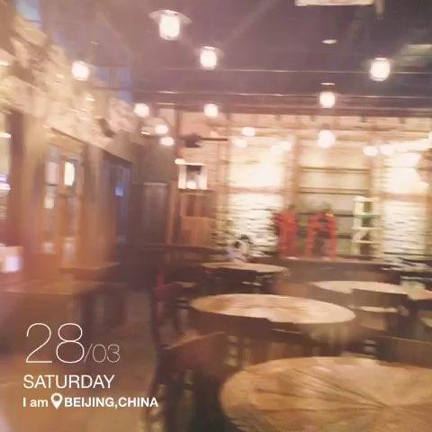 """我在望京麒麟社【SHINSANG】餐厅 下个星期正式开"""""""