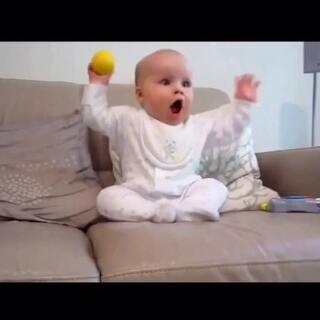 从小就是铅球高手!