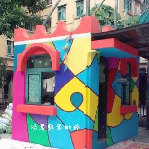 幼儿园抽象画装饰