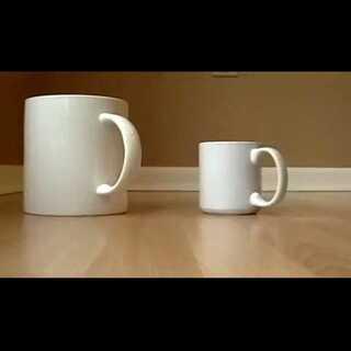 杯子的错觉~#创意#