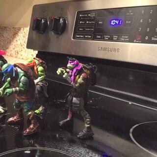 Ninja turtle Dance
