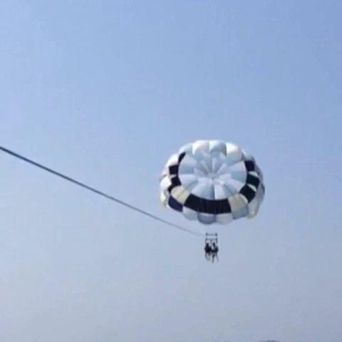 风筝上飞机图片大全