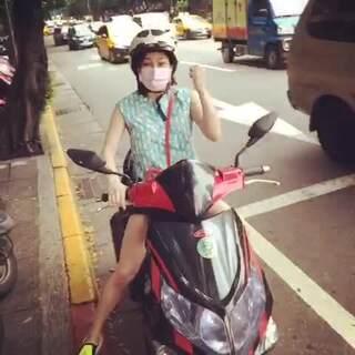 將近10年沒騎摩托車
