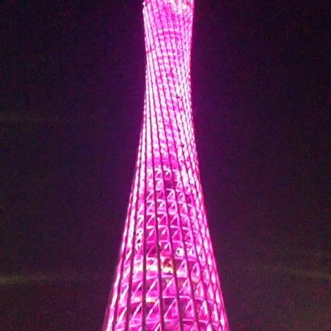 夜景广州塔