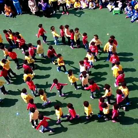 舞蹈队形变换示意图展示-7人舞蹈队形简易图