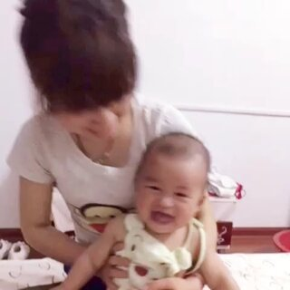 #宝宝##笑声大赛#😂😂😂一味喜欢疯