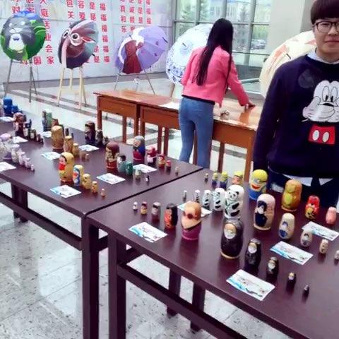 美术与设计学院工艺品展览#大学