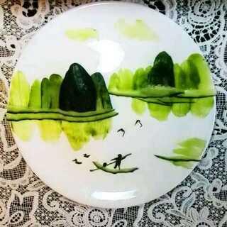 黄瓜也可以画画