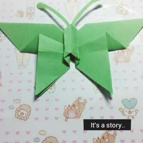 幼儿彩带手工制作折纸