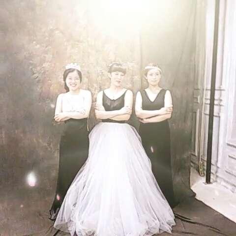 三人闺蜜,美呆啦