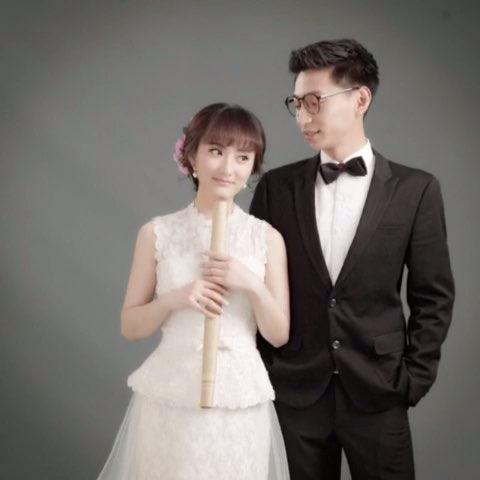 pumel结婚照