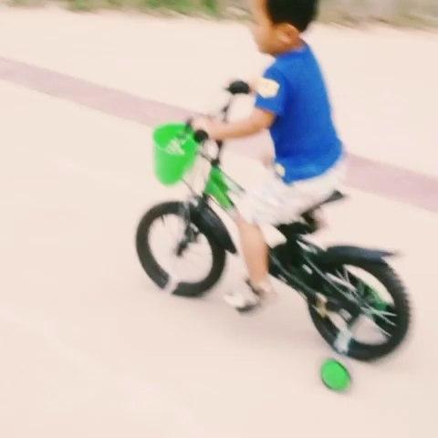 会骑自行车了! - 华sw的美拍图片