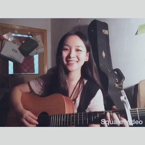 """#音乐# 儿歌,张悬。弹吉他练的第一首弹唱曲子。#民"""""""