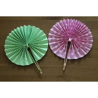 手工折纸扇