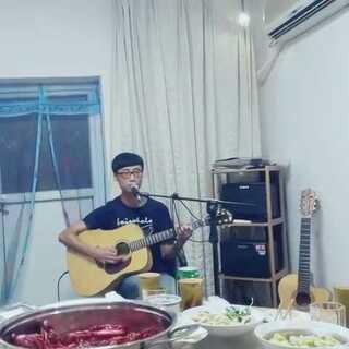 石畅现场弹唱他的原创歌曲《孩子》#唱歌##音乐##美拍原创好音乐##原创音乐#