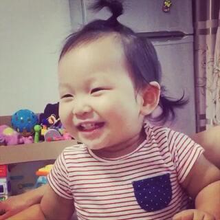 爱笑的孩子最美
