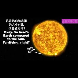 地球其实很渺小!