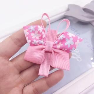 可爱的蝴蝶发夹