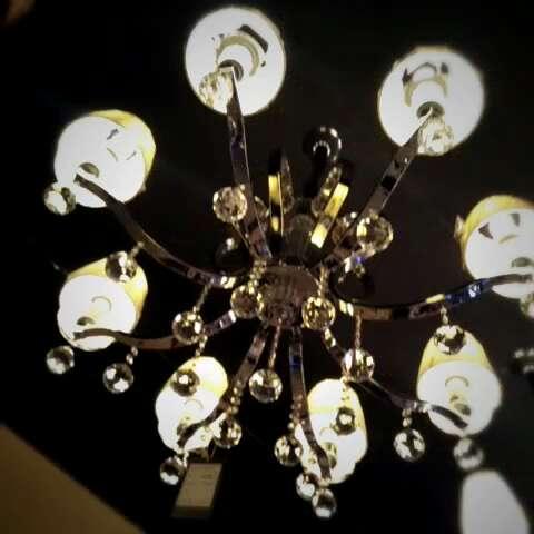 现代简约欧式吊灯