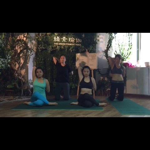 绿素舞韵瑜伽会员展示美丽的神话(五) - 绿素瑜