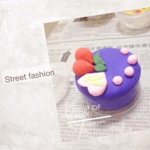 超轻粘土之甜点,蛋糕