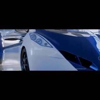 #汽车#超科幻飞行汽车:汽车车头+飞机尾巴#涨姿势#