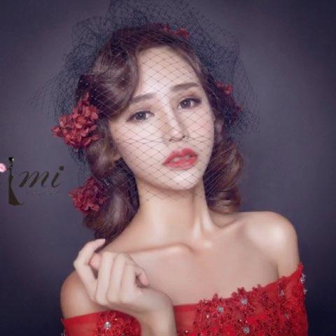 """#时尚美妆#复古风格美女完美演绎。AIMI力作 - AnG"""""""