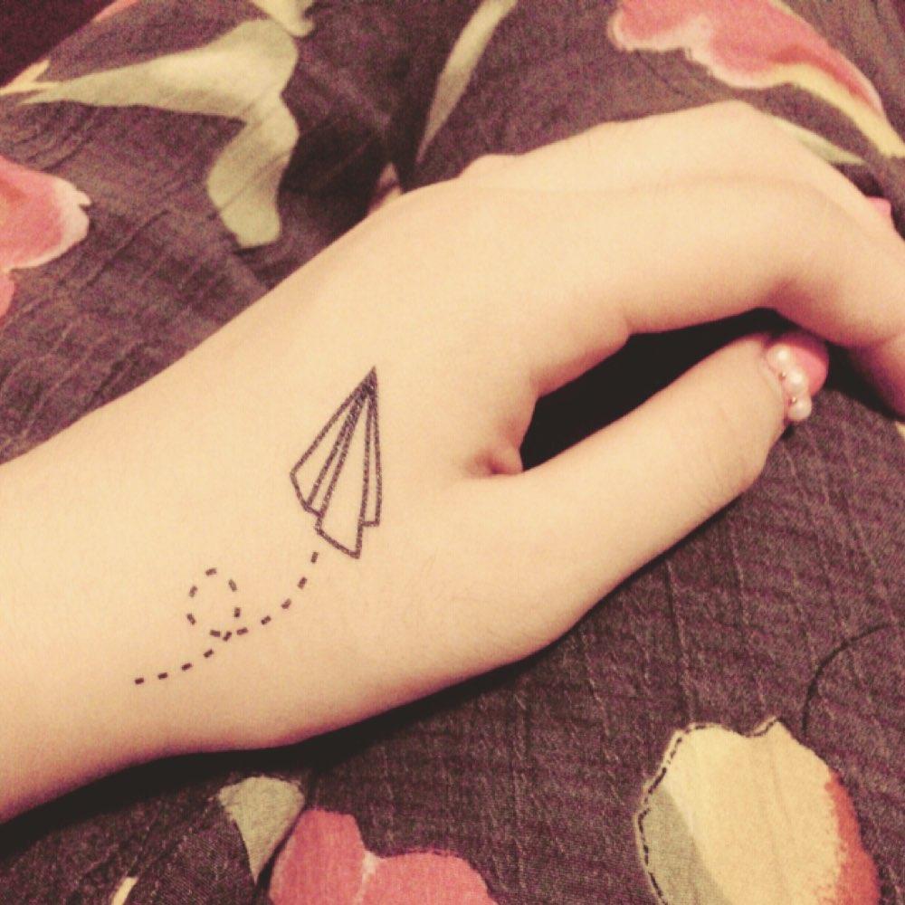 纹身字母图案love男士