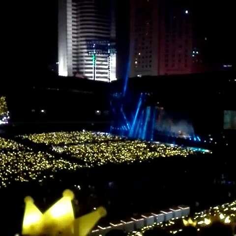 bigbang成都演唱会#合唱#if you图片