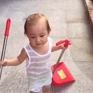 宝宝超级爱麻麻