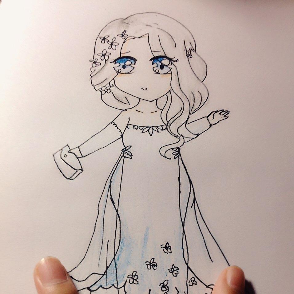 婚纱礼服##文艺小清新##随笔漫画##手绘