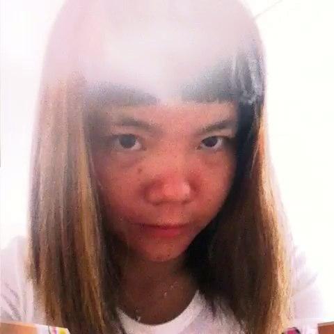 昨天下午上唐理发店剪得刘海怎么样