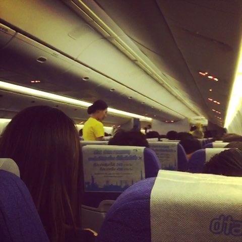 旅行#泰国酷航,彩色飞机