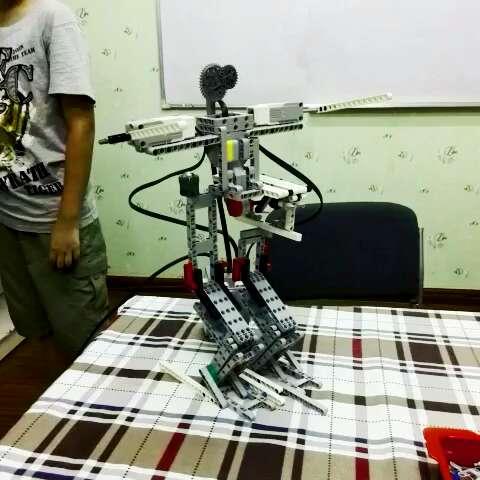乐高##乐高机器人##乐高课#让人无比兴奋的搭建