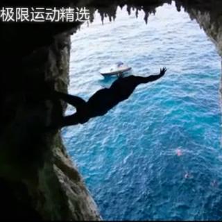 超酷的悬崖跳水